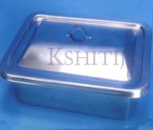 Instrument Trays with Cover, Instrument Trays with Cover Manufacturer, Instrument Trays with Cover Exporter, Instrument Trays with Cover Supplier, Instrument Trays with Cover India, Instrument Trays with Cover Ambala, Instrument Trays with Cover Indian, Kshitij Innovation